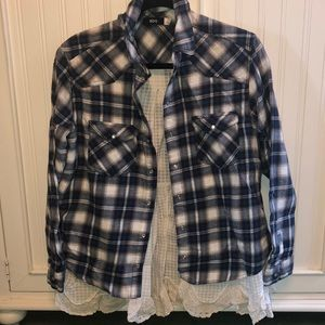 BDG flannel with lace